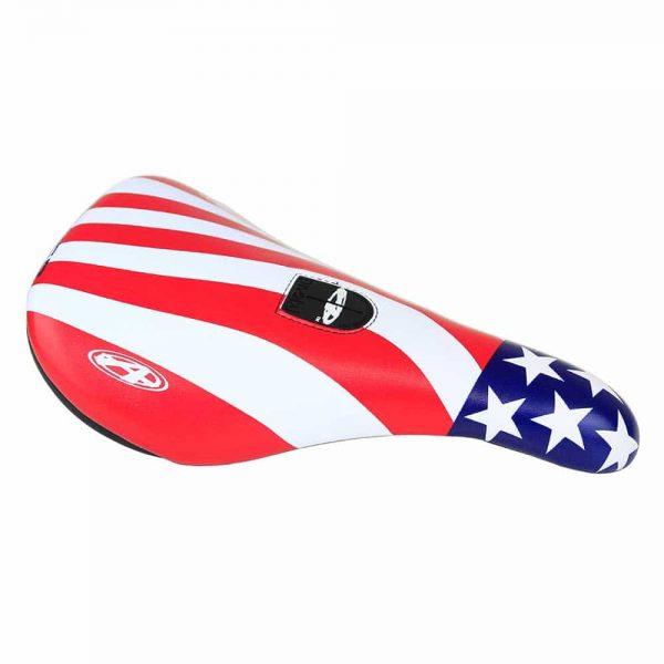 Answer BMX Pro Pivotal Seat Red//White//Blue